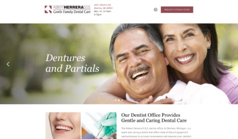 Robert Herrera D.D.S. Website